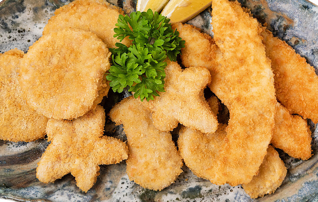 Breaded & Battered Fish (Gluten Free)