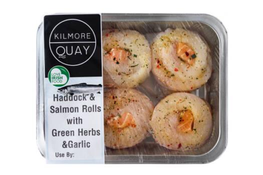 Haddock & Salmon Rolls