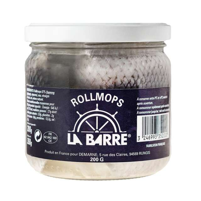 La Barre Rollmop Herrings