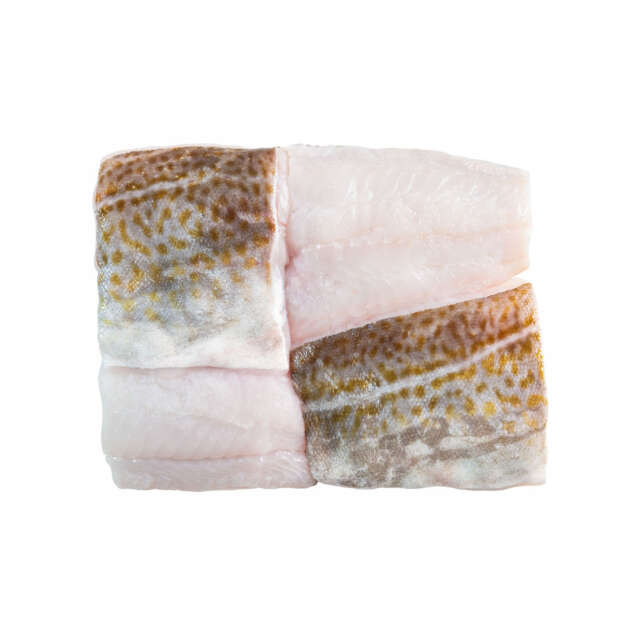 Fresh Wild Irish Cod Portions Family Pack