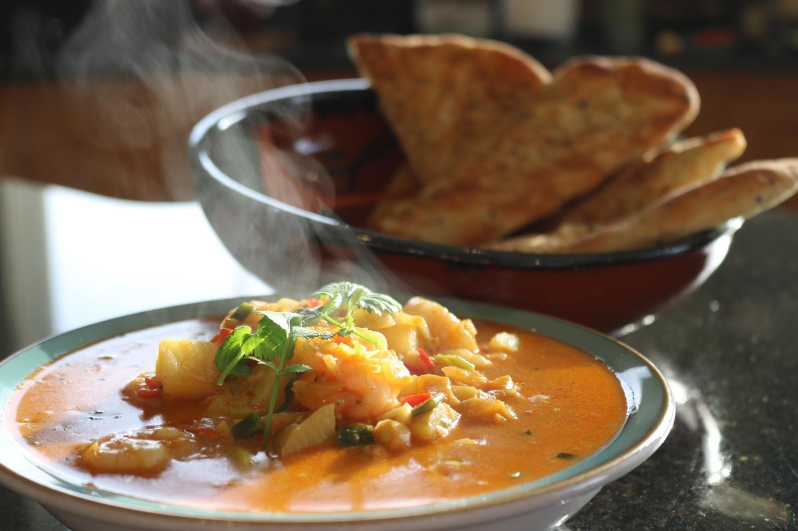 Prawn & Potato Thai Yellow Curry by Siobhán Devereux Doyle