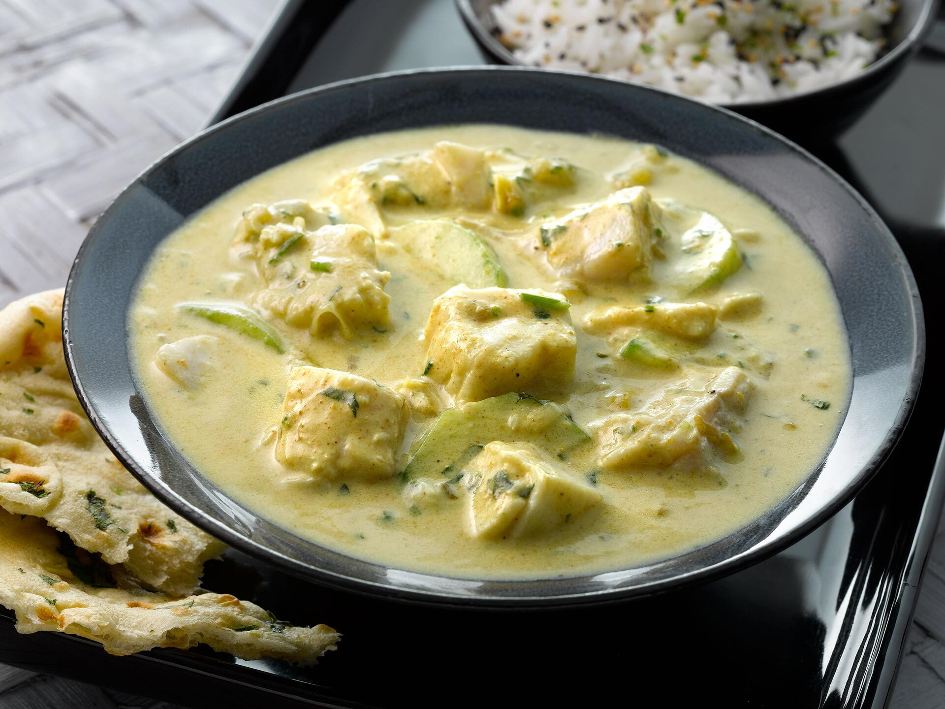 Quick Fish Curry with Haddock