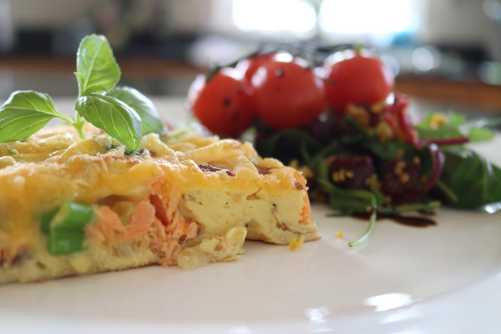 Barbecued Rainbow Trout Spanish Omelette by Siobhán Devereux Doyle