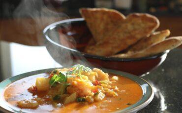 Prawn & Potato Thai Yellow Curry
