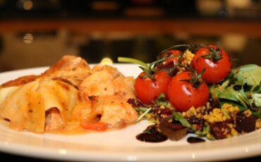 Seafood Lasagne by Siobhan Devereux Doyle